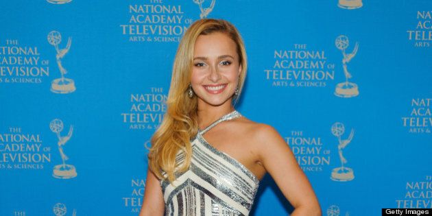 NEW YORK, NY - MAY 07: Hayden Panettiere attends the 34th Annual Sports Emmy Awards at Frederick P. Rose...