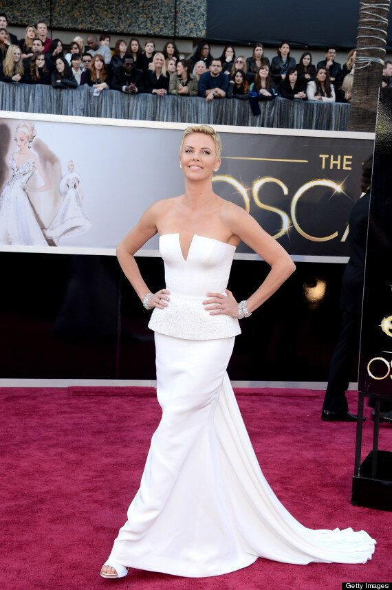Charlize Theron's Oscars Look Styled By Canadian-Born Stylist Leslie