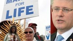 Harper Silencing Anti-Abortion