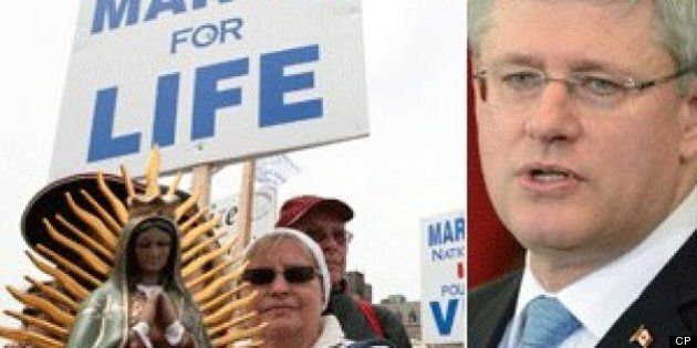 Harper Accused Of Silencing Anti-Abortion
