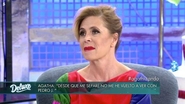 La pregunta sobre Pedro J. que Ágatha Ruiz de la Prada no supo responder en 'Sábado