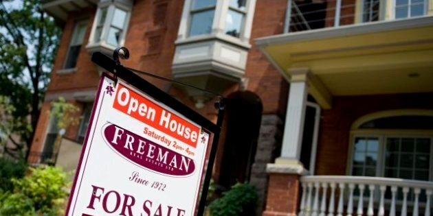 Toronto Housing Sales See 13-Per-Cent Drop But Prices Keep