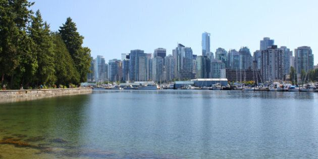 stanley park with