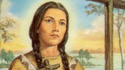 First Nations Woman To Become Catholic
