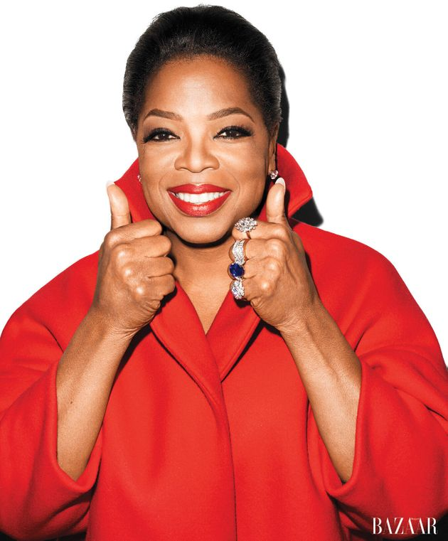Oprah In Harper's Bazaar: Star Chats OWN, Guilty Pleasures And Her Greatest Indulgence