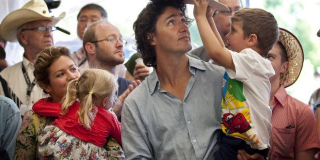 Justin Trudeau Attends Calgary Stampede, Still Weighing Leadership