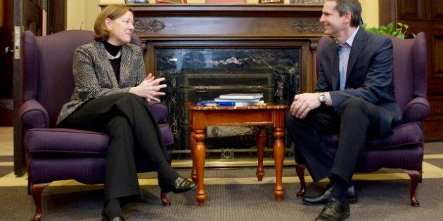 Dalton McGuinty Resigns, Alison Redford Reacts To Ontario Premier's
