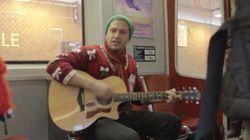 WATCH: Toronto Subway Christmas