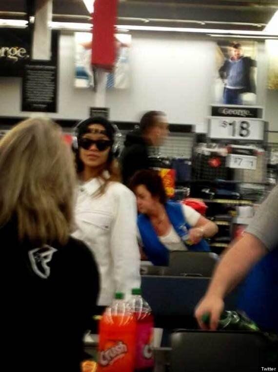 Rihanna Spotted In Kamloops Walmart