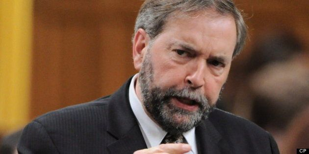 Thomas Mulcair: EI Crackdown Just A Conservative Political