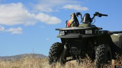 ATV Ride Turns Up Grisly