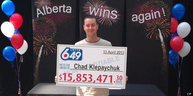 Chad Klepaychuk Lottery Win: Wife Responsible For Husband's $15.8 Million