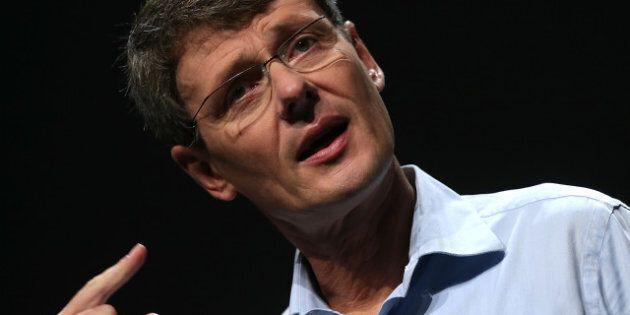 SAN JOSE, CA - SEPTEMBER 25: Research in Motion (RIM) CEO Thorsten Heins speaks during the BlackBerry...