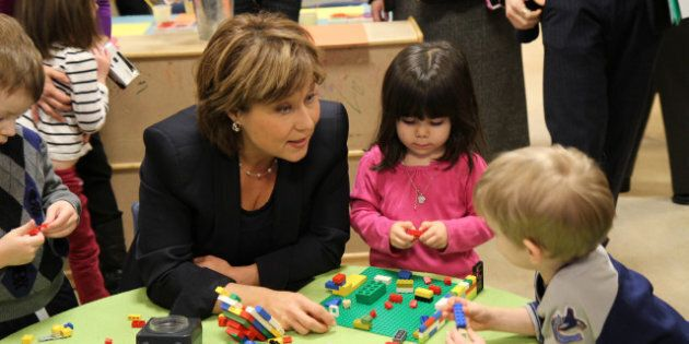 Christy Clark Election Campaign Talks Taxes, Families and