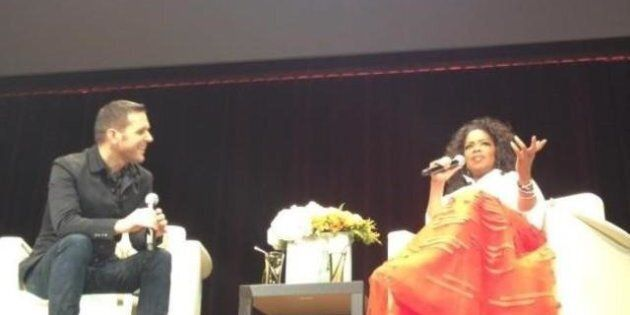 Oprah In Vancouver: Strombo On Travelling With Lady