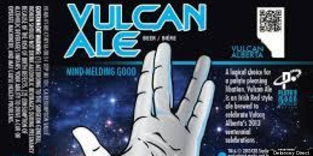 Boldly Going Where No Beer Has Gone