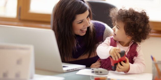 Moms In Canada: What's The Difference Between 'Working' And 'Stay At Home'?