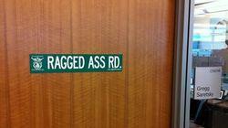 OOPS! WestJet's 'Ragged Ass'
