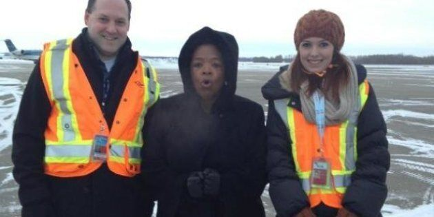 Oprah Winfrey Bummed Her Edmonton Hotel Room Doesn't Have