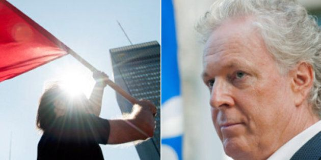 Charest Cuts Election Event Due To Student