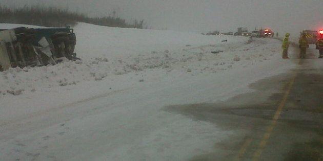 Highway 63 Crash: Driver Of Pickup Truck Dies After