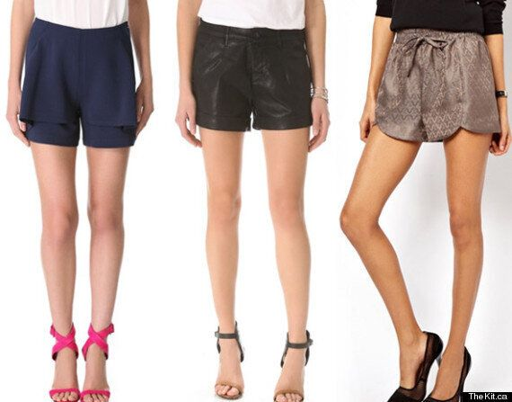 Spring Trends 2013: Cocktail Or Evening Shorts For A Night