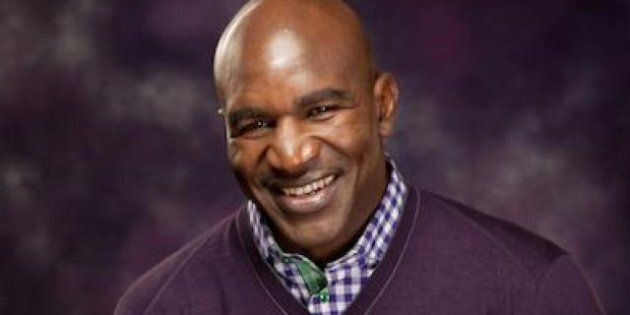 Evander Holyfield Throws Punches At Bullying In