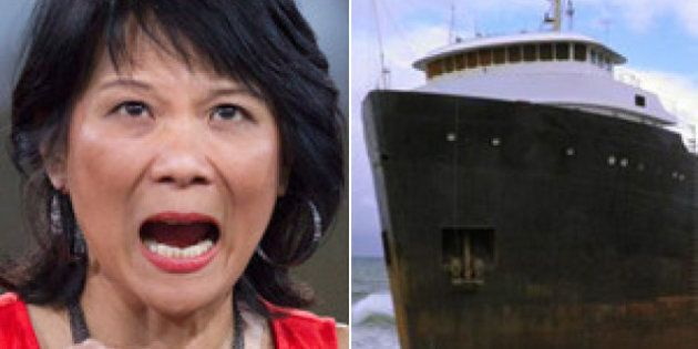 MV Miner: NDP's Olivia Chow And Peter Stoffer Want Action On Stranded