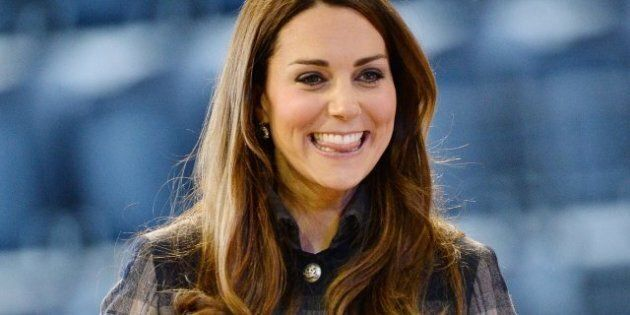 Kate Middleton Wears Short Tartan Coat In Scotland