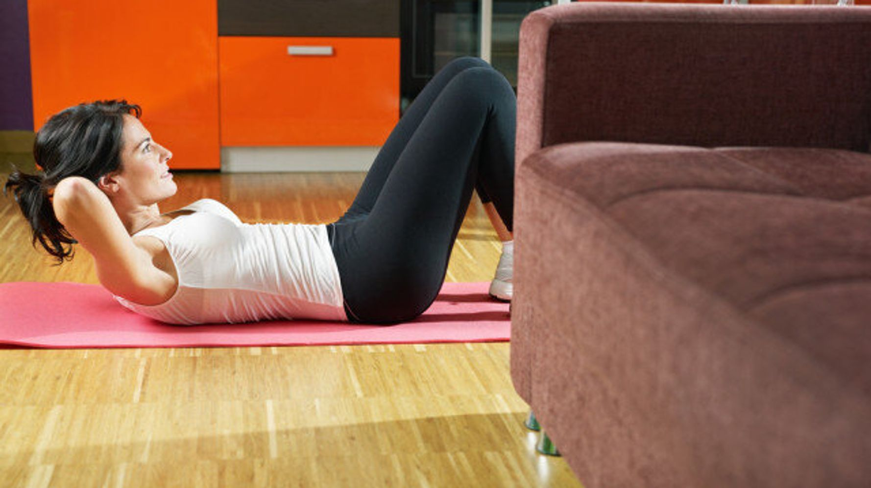 An At-Home Workout for When You Just Dont Want to Leave