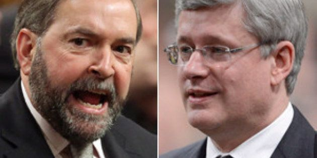 Poll Puts NDP On Conservatives' Tail As Harper Government Approaches Midpoint Of