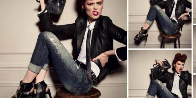 Diesel Fall/Winter 2012 Ad Campaign Featuring Coco