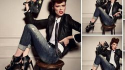 Coco Rocha Models For Diesel's Fall/Winter Ad