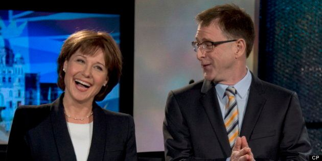 B.C. Election: Christy Clark, Adrian Dix Spar During And After Televised Debate