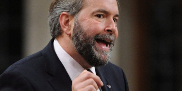 Mulcair: Like a Less Popular, Power-Hungry