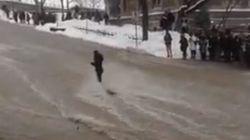 WATCH: Flooding Sweeps Away