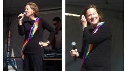 Premier Redford At Calgary's Pride 2012 Talks Respect And