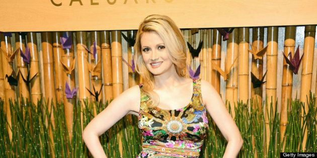 LAS VEGAS, NV - APRIL 28:  Model and television personality Holly Madison attends the grand opening celebration of the world's first Nobu Hotel Restaurant and Lounge Caesars Palace on April 28, 2013 in Las Vegas, Nevada.  (Photo by Ethan Miller/Getty Images for Nobu Hotel)