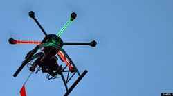 Aerial Drone Locates Man Injured In Rollover