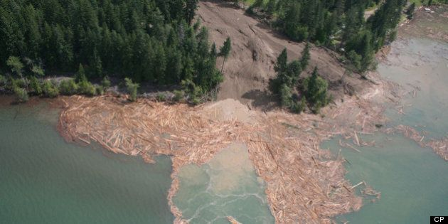 Johnson's Landing B.C. Landslide: Four Missing In Problematic Rescue