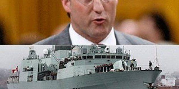 Peter MacKay: Navy Will Get Supply Ships, Despite Budget Officer