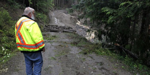 B.C. Landslide: Crews Find Body Of Person Missing After Landslide, Rescue Mission Now Recovery