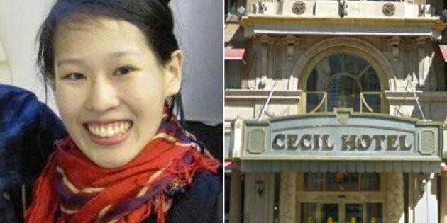 ผลการค้นหารูปภาพสำหรับ elisa lam cecil hotel