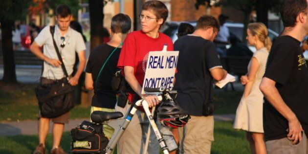 Christie Pits Rally: Hundreds Gather In Toronto To Protest Sexual