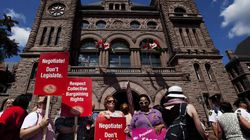 United OntarioTeachers Stand, Divided They Offer