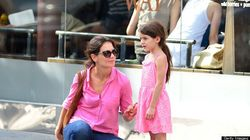 Twinsies? Katie Holmes And Suri Cruise Match In