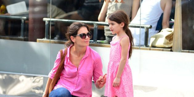 Katie Holmes And Suri Cruise Match In