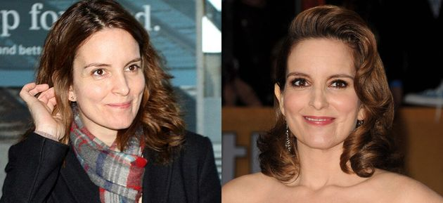 Celebrities Without Makeup: Tina Fey Looks Better Bare-Faced