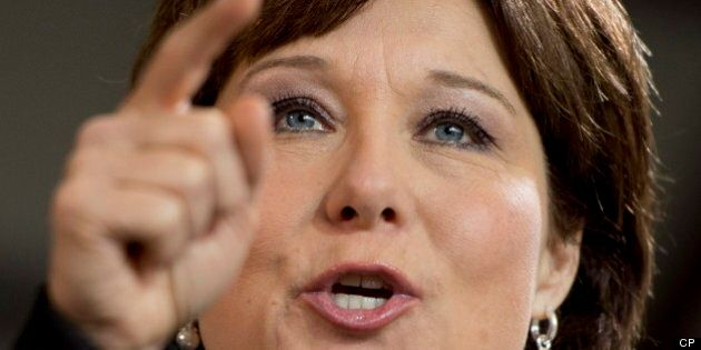 Christy Clark Says Liberals Gaining Momentum In B.C. Election Campaign's Final
