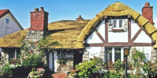 'Hobbit House' In Vancouver For Sale